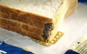 mysz w bochenku chleba